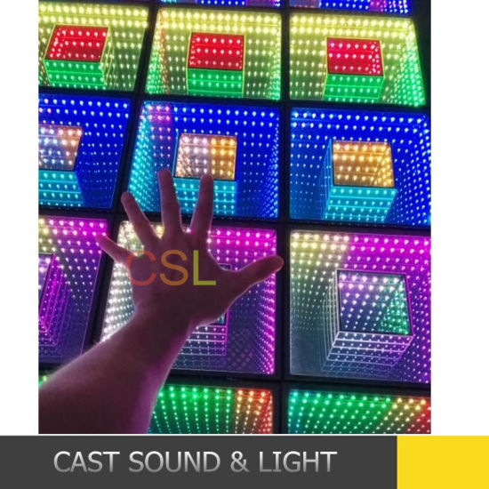 New Design 3D Dance Floor LED Stage Effect Light