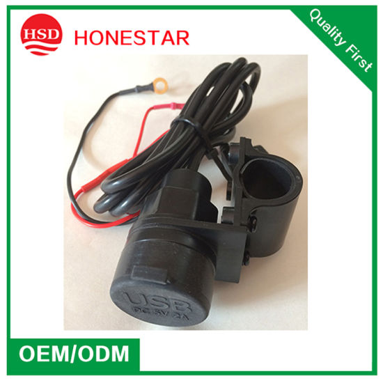 High Quality Motorcycles Mobile Phone 5V 3.1A USB Charger pictures & photos