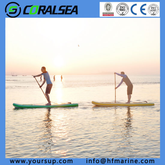 "Surfing Board PVC Sup Pad for Sale (LV10′6 "") pictures & photos"
