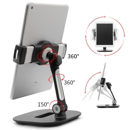 360 Degree Rotating Desk Mount Holder, Tablet Stand Phone Holder pictures & photos