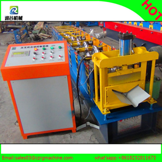 Cold Steel Sheet Door Frame Roll Forming Machine pictures & photos
