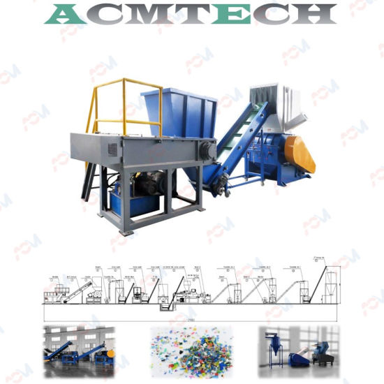 High Efficiency and Low Noise Shredder and Crusher European Style