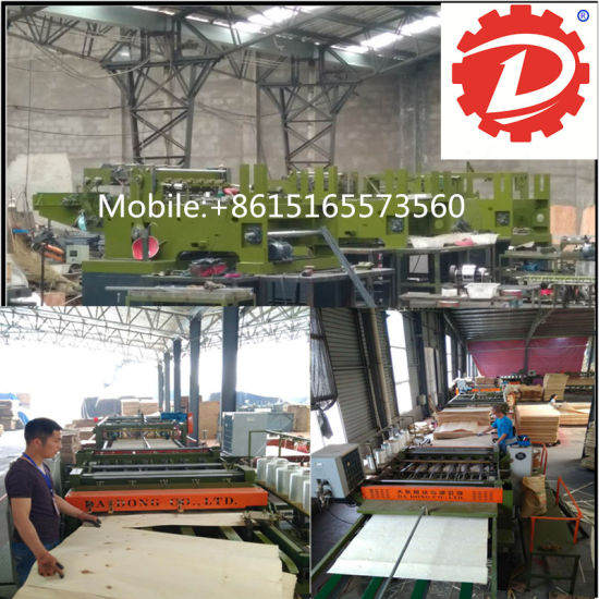 Full Automatic Core Veneer Splicing Machine Plywood Making Machinery pictures & photos