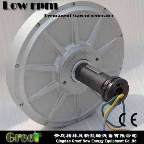 1kw 80rpm Axial Flux Permanent Magnet Generator for Sales pictures & photos