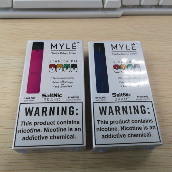 Competitive Prices of Starter Kit with Four Pods for Myle