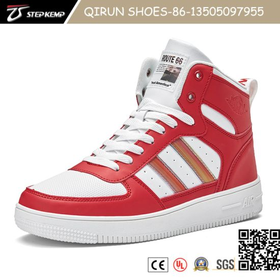 2020 Fashion Casual Lightweight Sneakers Breathable Flat PU Shoe for Man 20s3009