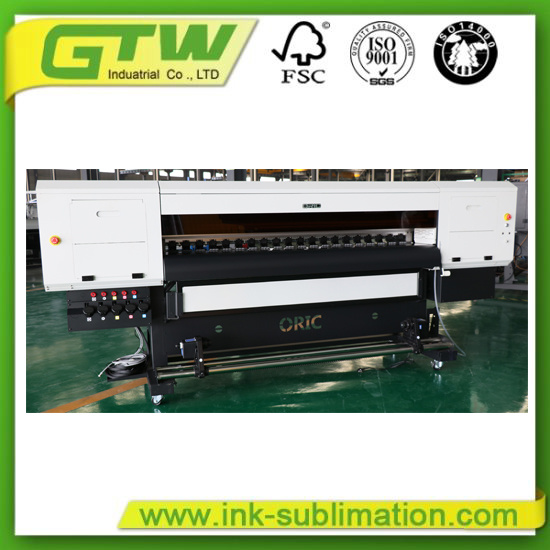 2m Oric or-8800 UV Roll to Roll Printer with High-End Soft Film