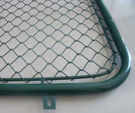 Round edge fence wire mesh fence for sport ground outdoor