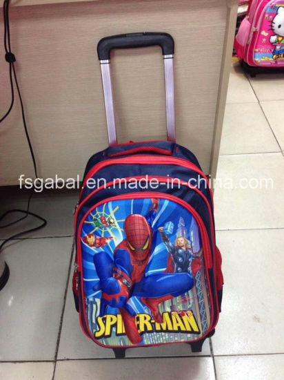 Wholesale Cartoon Children Removable Trolley School Bag pictures   photos 5b61e1bfd29bf