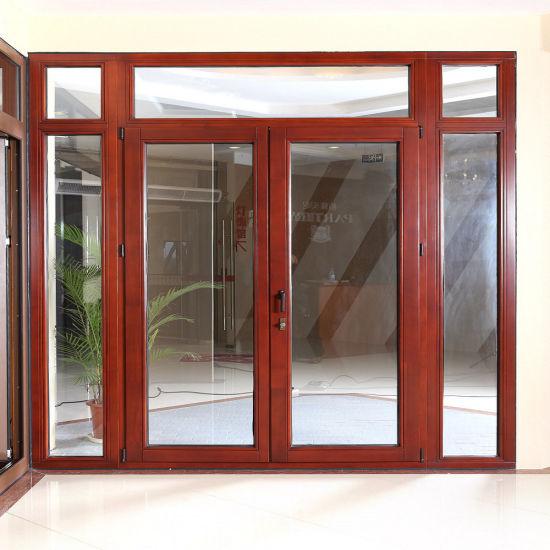 China Aluminum Clad Wood Door (TS-209) - China Door, Aluminum Door on