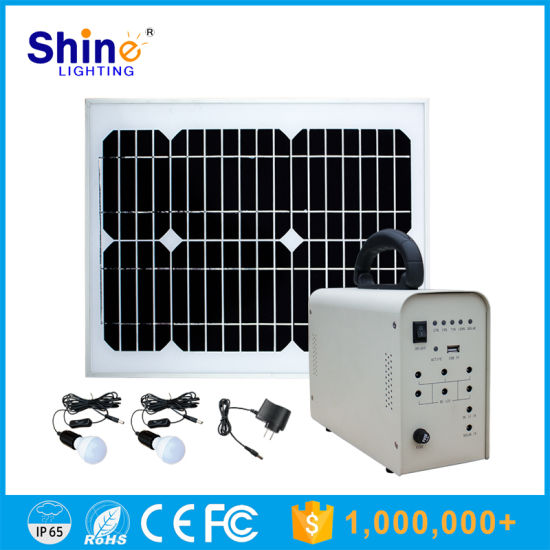 Portable Low Price 50W 40W Solar Energy System for Home pictures & photos