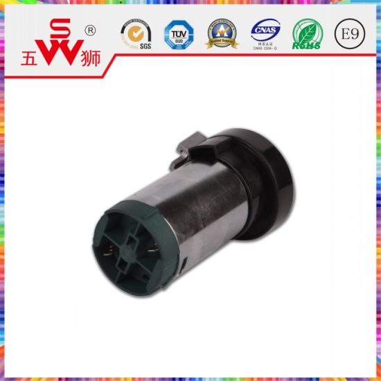 Black Closed Type Electric Horn Motor for Snail Horn pictures & photos