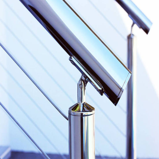 China Exterior Prefab Handrail Stainless Steel Wire /Cable ...