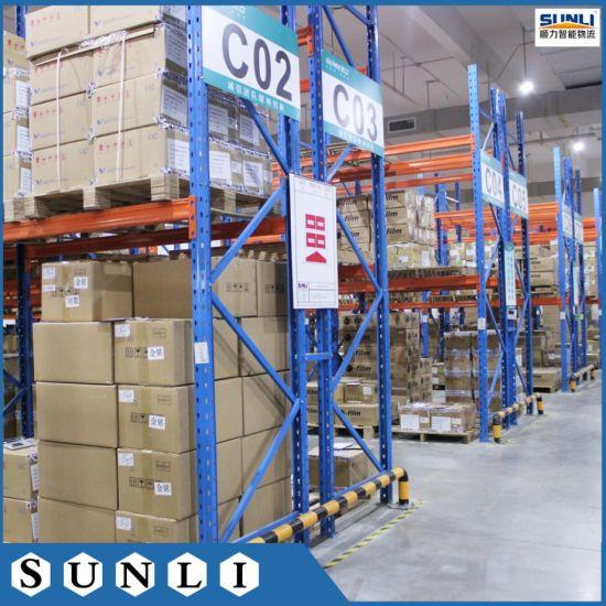 Warehouse Q235B Metal Heavy Duty Rack for 1000kg Pallet 1200X1000