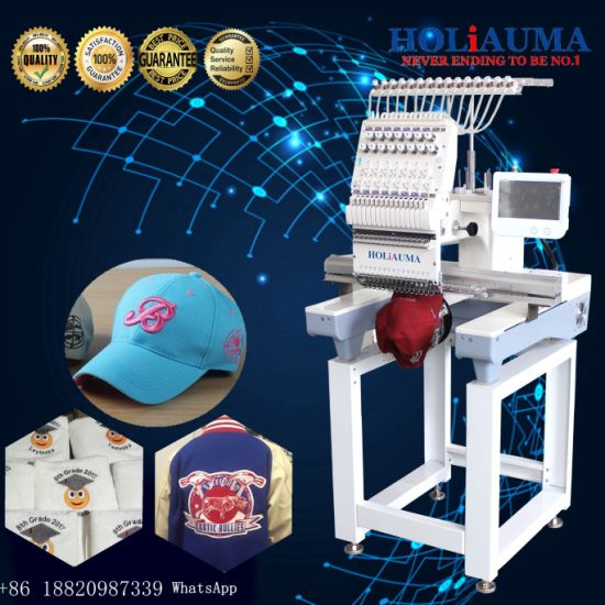 China One Head Small Computer Single Head Embroidery Machine Similar