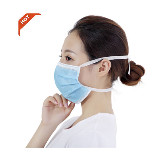 Nonwoven Disposable 3 Ply Face Mask/Surgical Face Mask/Medical Face Mask