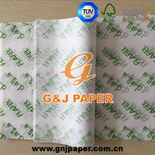 Wood Pulp Printed Sandwich Wrapping Paper for Wholesale pictures & photos