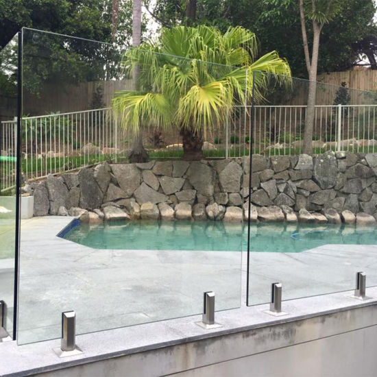 Good Quality Deck Railing Glass Panels with Frameless Glass Balustrade Design pictures & photos