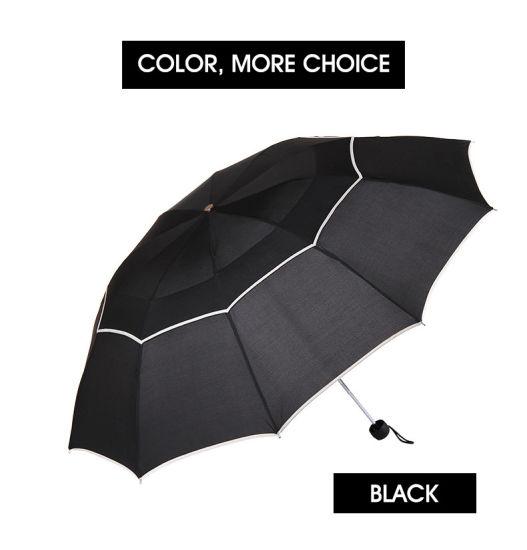 12e150d490fb China 112cm Quality Umbrella Rain Woman Men Windproof Double Layer ...