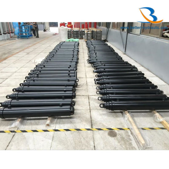 Hydraulic Telescopic Cylinder for Tipper Truck pictures & photos