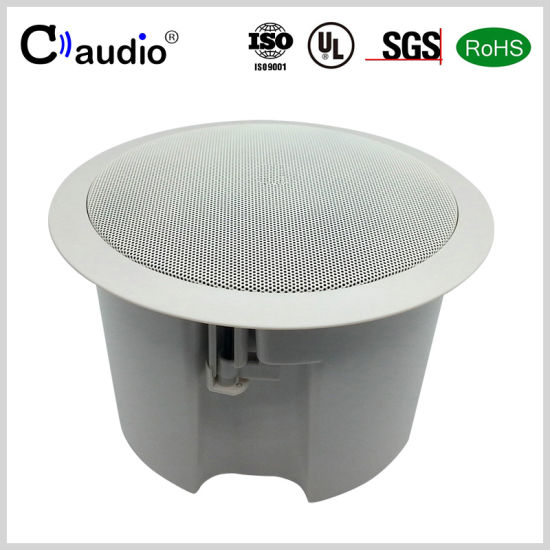 CT656 6.5 Inch Fire-Rated Enclosure Speaker with Coated Paper Cone
