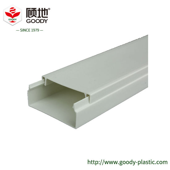 China Self Extinguishing Pvc Insulated Cable Duct Trunking For Electric Wires Installation China Pvc Conduit Pipe And Pvc Wire Pipe Price