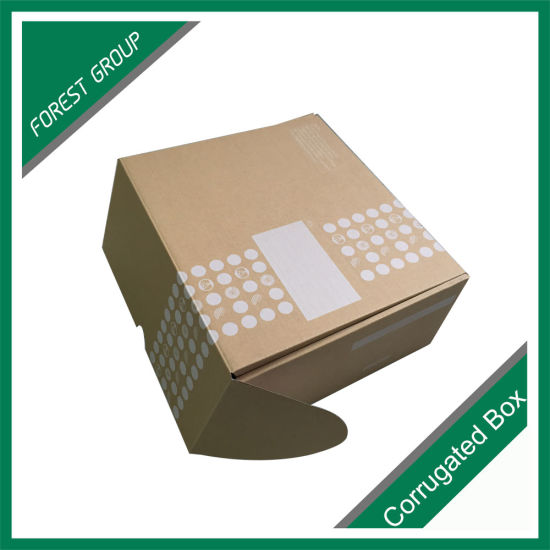 Shipping Cartons Corrugated Mailing Small Medium Gift Boxes with Top Lid pictures & photos