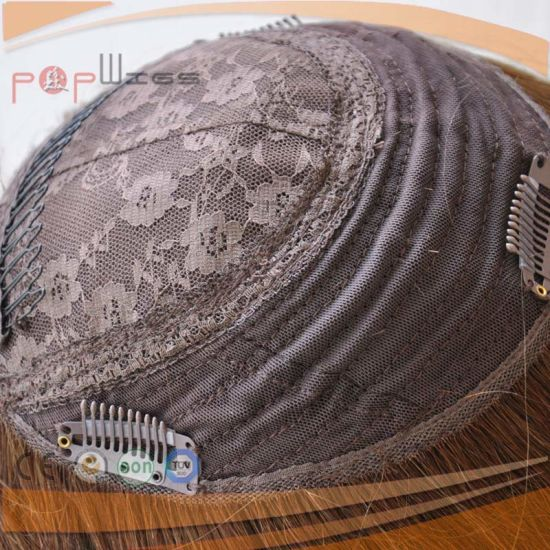 Brazilian Virgin Hair Skin Top Lace Closure Topper (PPG-l-01521) pictures & photos