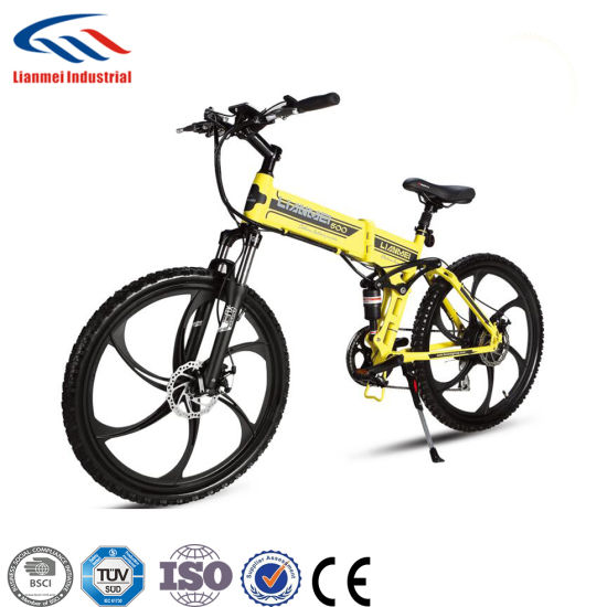 36V Lithium Battery 250W Brushless Motor Electric Bicycle pictures & photos