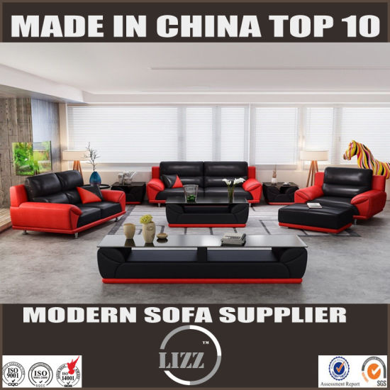 China Miami Living Room Sectional Leather Sofa - China ...