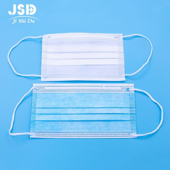 Henan Jsd Disposable Medical Surgical Mask Surgical Protection Sterilization Anti-Virus Three-Layer Protective Medical Mask