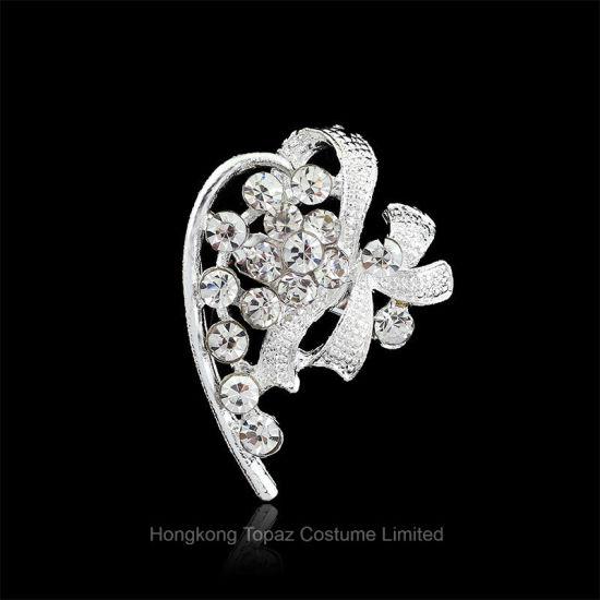 Good Fashion Rhinestone Women Vintage Brooch Pins For Women Scarf Wedding Brooch  Jewelry (BR 12)