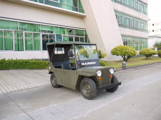 4 Seats Battery Operated Club Military Vehicle