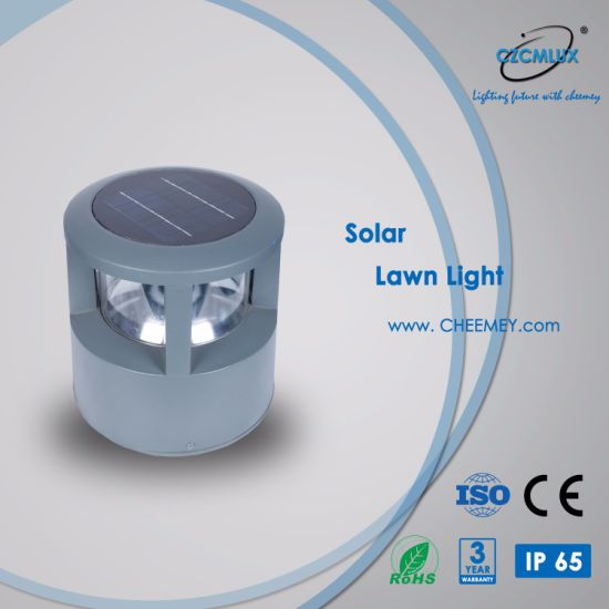 Casting Aluminum LED Outdoor Solar Post Light for Garden