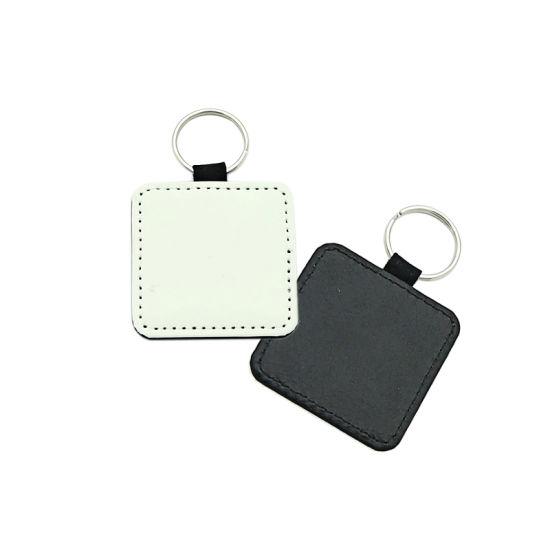 Sublimation PU Leather Keychain Holder
