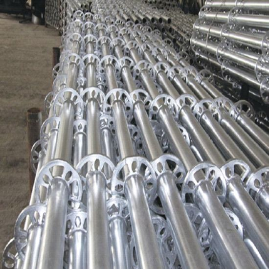 Steel Round Ring Lock Scaffolding Formwork System