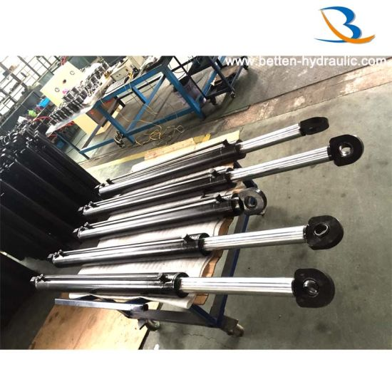 5 Ton Hydraulic Piston Cylinder Steering Cylinder for Construction Vehicles pictures & photos