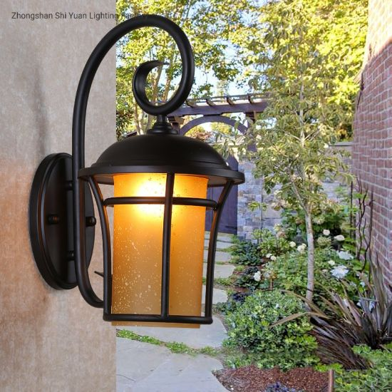 China Antique Vintage Exterior Outdoor Light Led Recessed Lantern Wall Lamp China Outdoor Light Wall Lamp Led Wall Lamp Exterior
