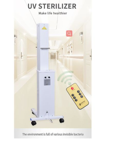 China Uv Lamp Trolley With Light Box And Pure Copper Power Cord Is