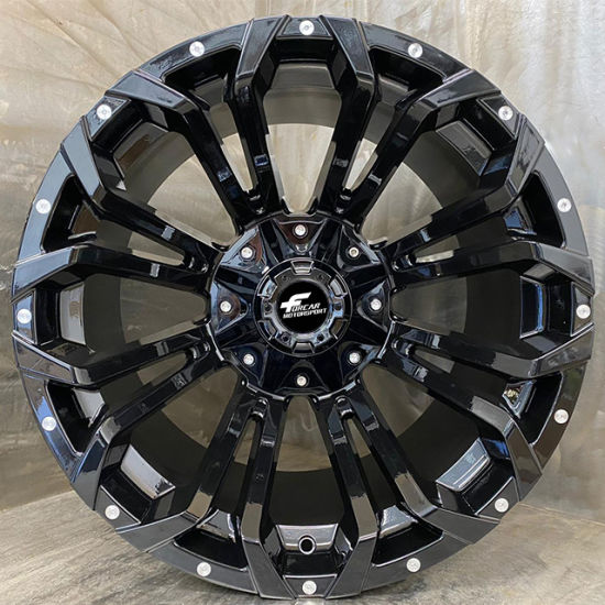 China 20 22 24inch Truck Car Offroad Concave Alloy Wheels Pcd 127
