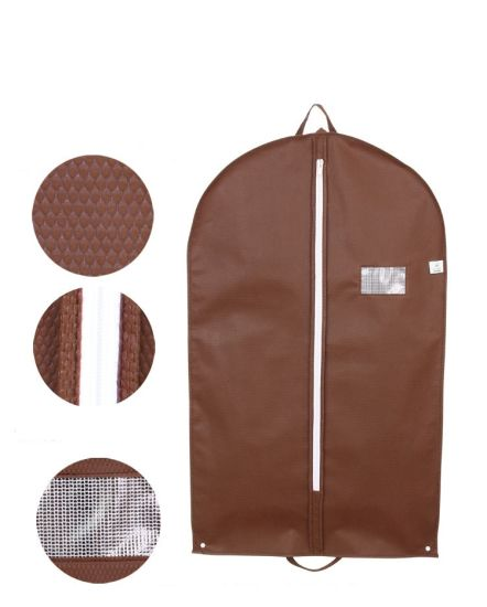 Luxury Foldable Carried Suit Garment Covers Dust Bag Protector for Clothes