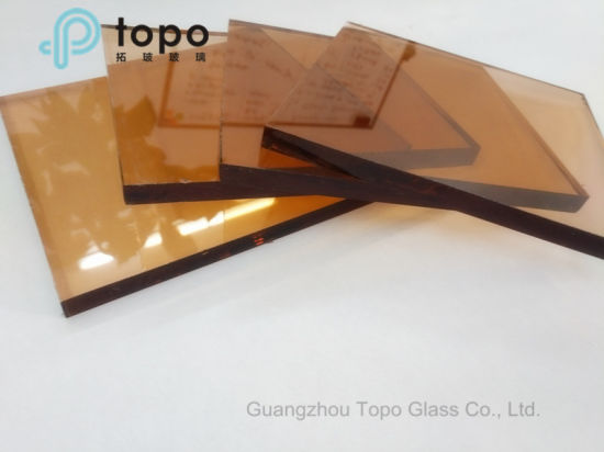 Pink Color Tinted Float Glass for Home Decoration (C-P) pictures & photos