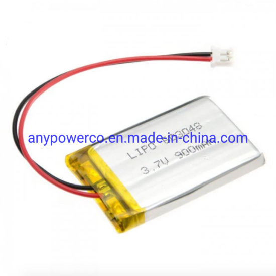 Rechargeable 3.7V 900mAh Polymer Li Ion 603048 Lithium Polymer Battery