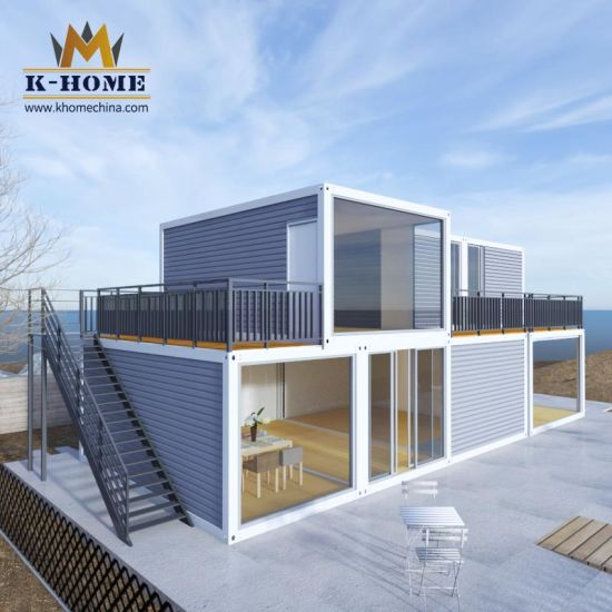 Beautiful Two Floor Family Living Container Apartment