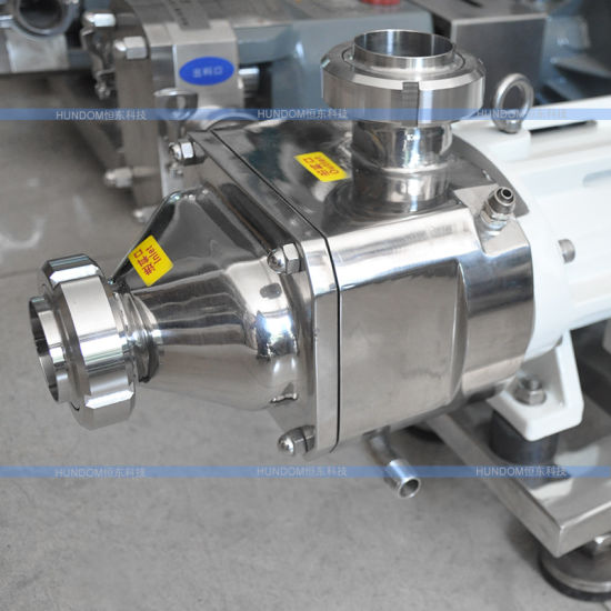 Stainless Steel Food Industry Twin Screw Pump with Speed Inverter pictures & photos