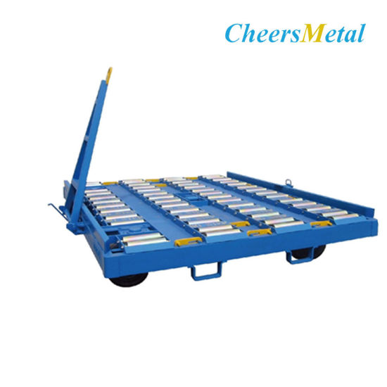 Airport Container Dolly Tow Trailer pictures & photos