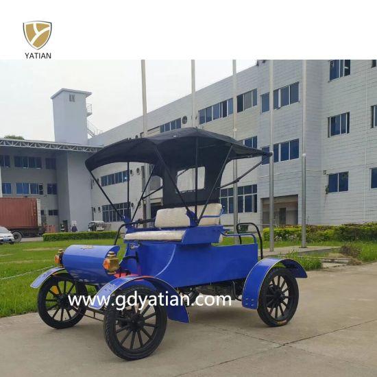 Electric Antique Sightseeing Club Car Golf Trolley