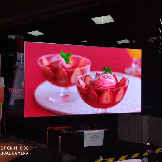 16/9 Small Pixel Pitch P1 Indoor LED Video Wall