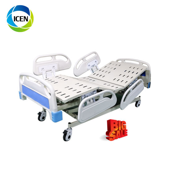 IN-8321 Cheap Hospital 5 Function Electric Folding Care Bed