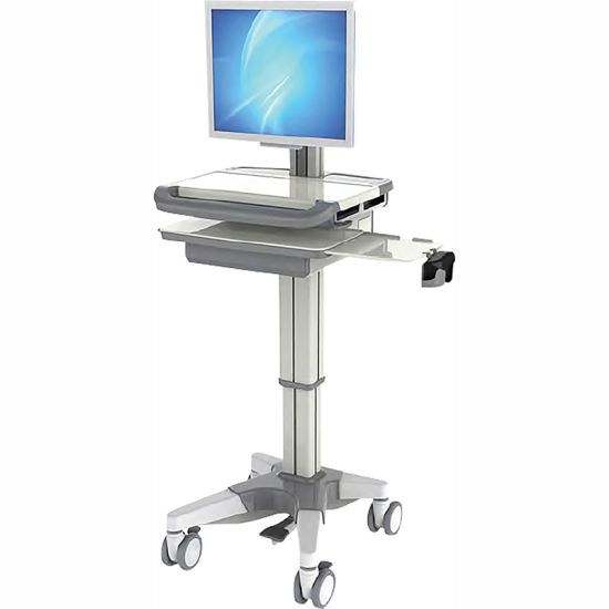 Skr-Ab00 New All-in-One Computer Cart with Height Adjustment pictures & photos